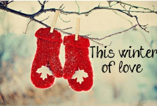 quotes about cold weather and love