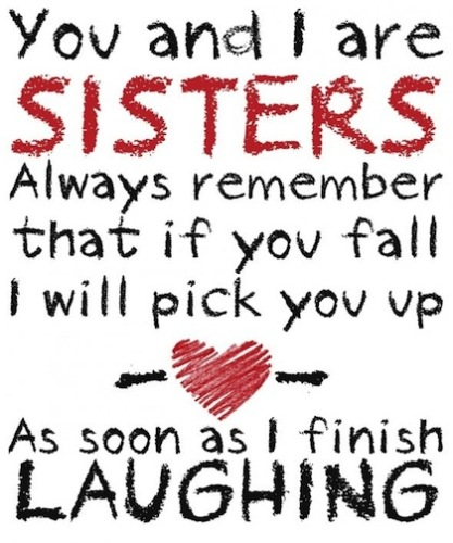 111+ Sister Quotes With Images For Your Cute Sister - Fresh