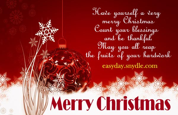 Charming Merry Christmas Quotes